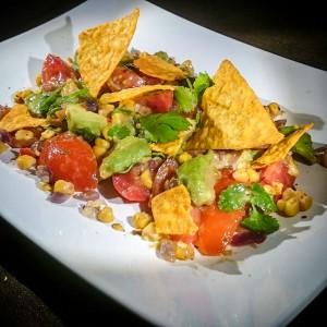 TexMex Salat Tomate-Avocado