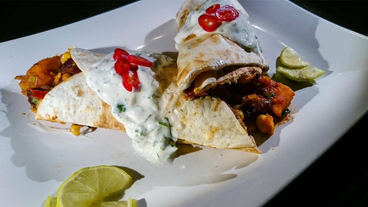 Mexikanischer Burrito