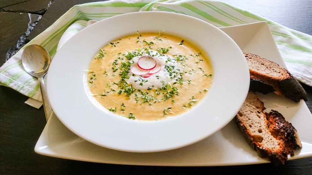Rezept für Cheddar Cheese Beer Soup