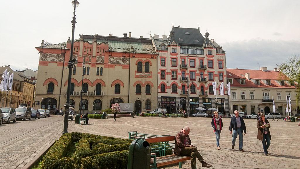 Plac Szczepański - Krakau