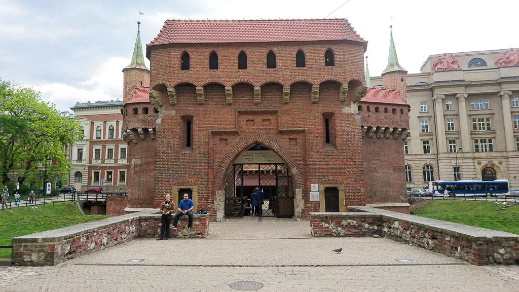 Elemente Krakau Altstadtmauer