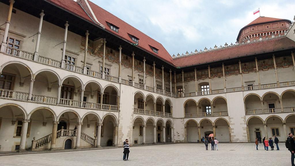 Burg Wawel Krakau