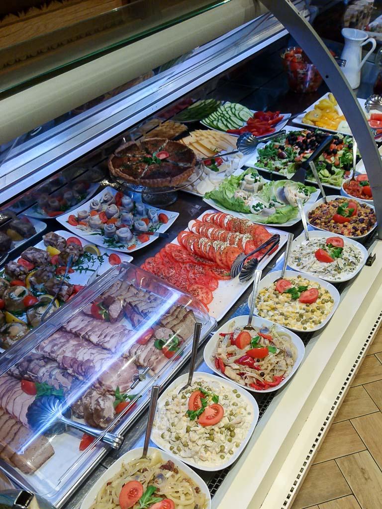 Polnisches Frühstücksbuffet