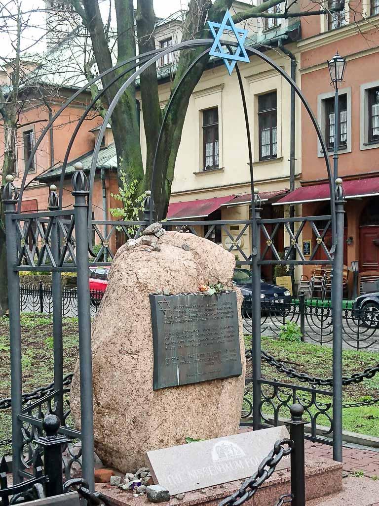 Denkmal Judenverfolgung Krakau