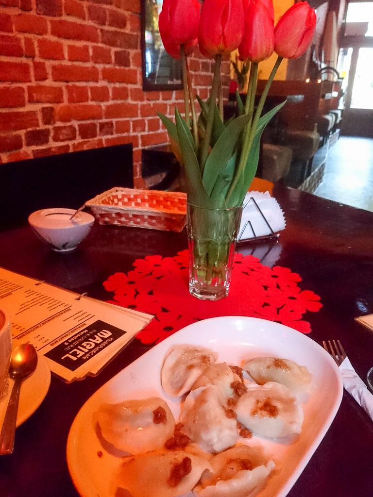 Klassische Pierogi mit Hackfülle - Essen gehen in Krakau