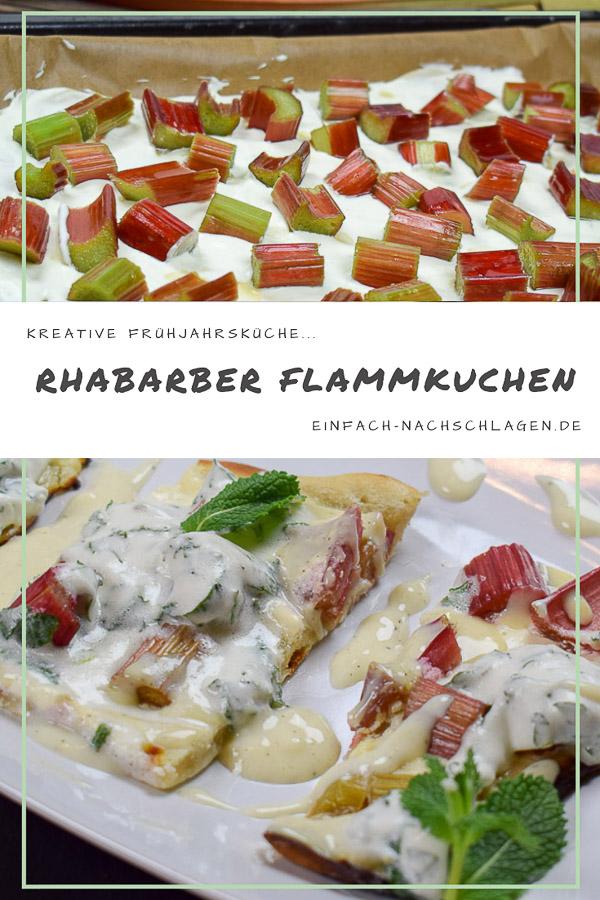 Süßer Rhabarber Flammkuchen (1)