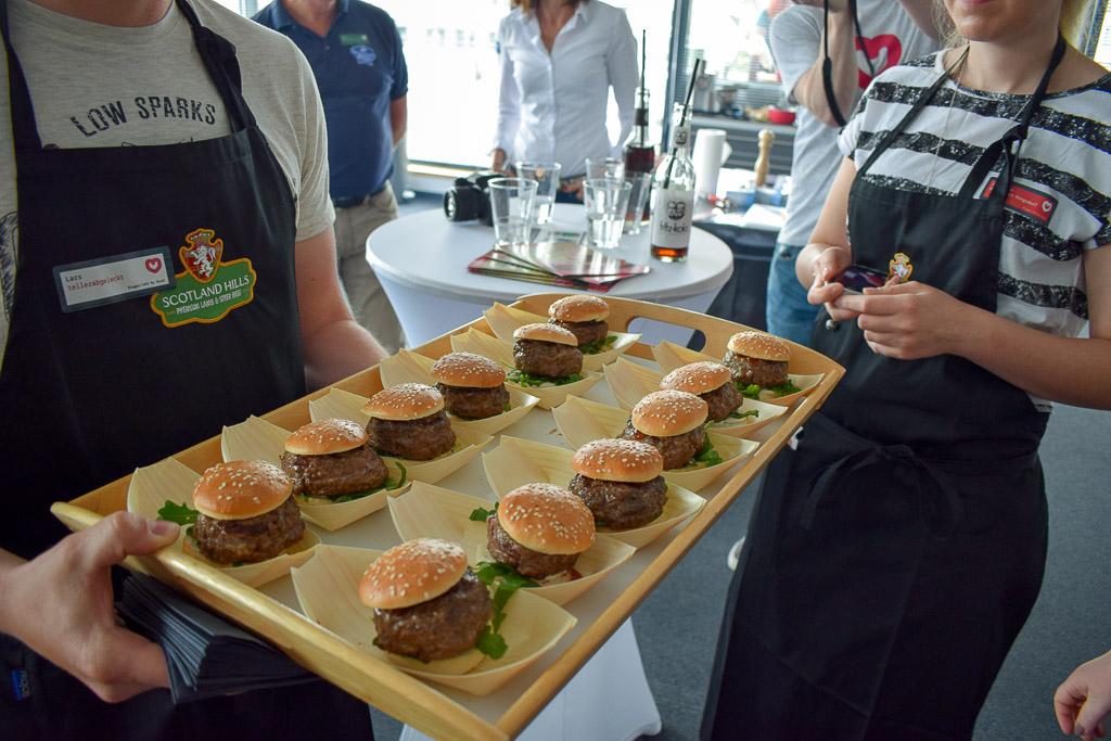 BBQ und ganz viel Fleisch über den Dächern Essens - Blogger-Café by Seidl