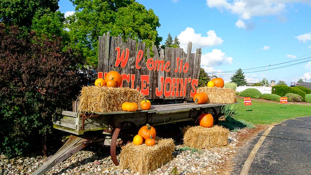 Uncle John´s Cider Mill Michigan