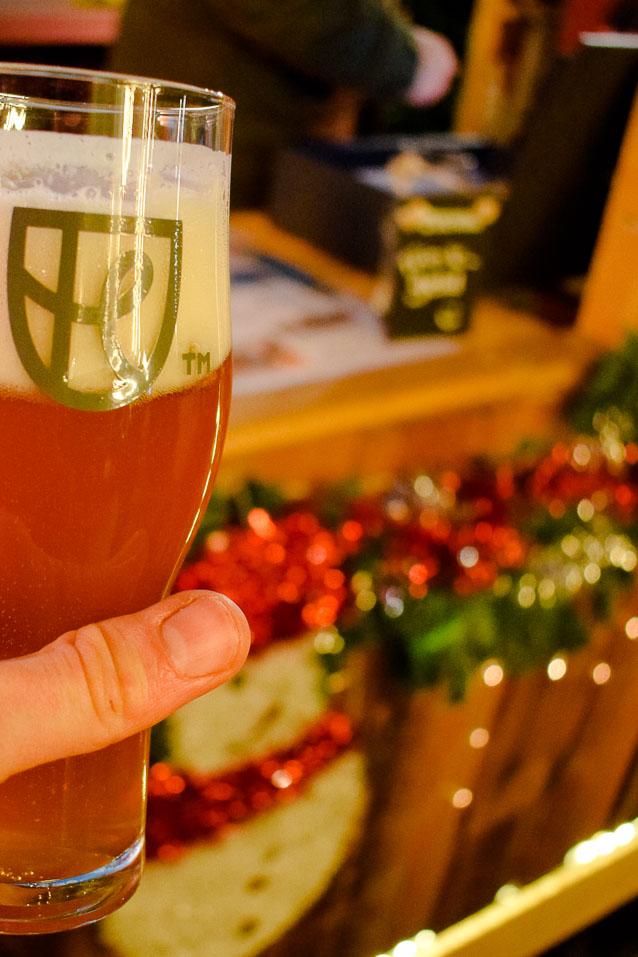 Bars In Boxes auf dem Weihnachtsmarkt in Recklinghausen