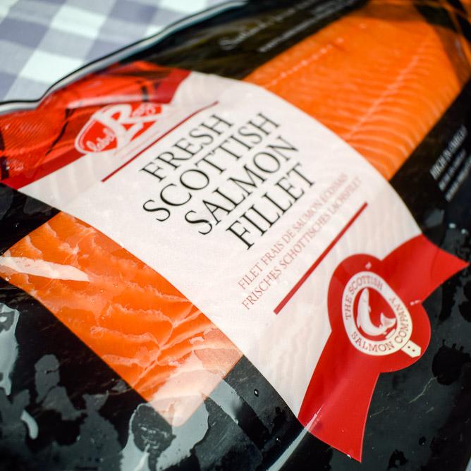 Label Rouge Lachs aus Schottland