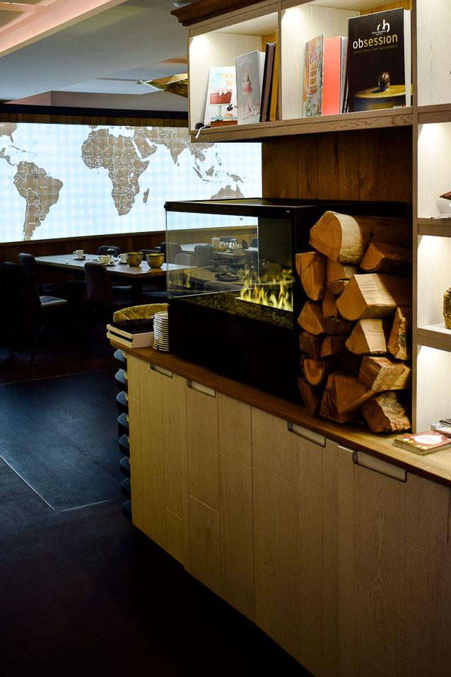 Blick in das Café - Zu Besuch bei der Schokoladenmanufaktur Sauerland