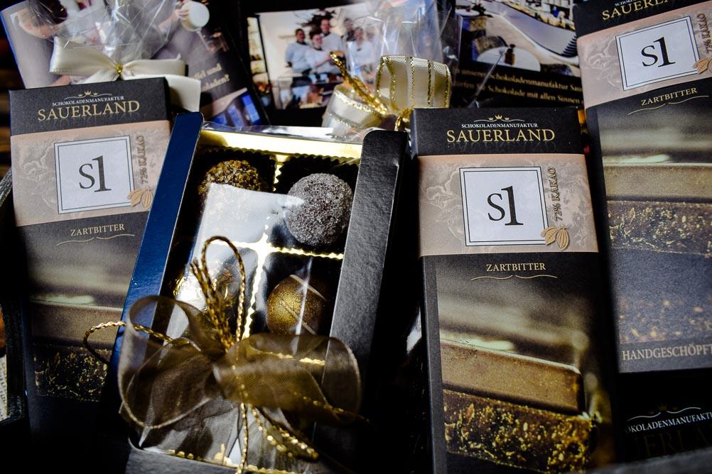 Gewinnspiel - Zu Besuch bei der Schokoladenmanufaktur Sauerland