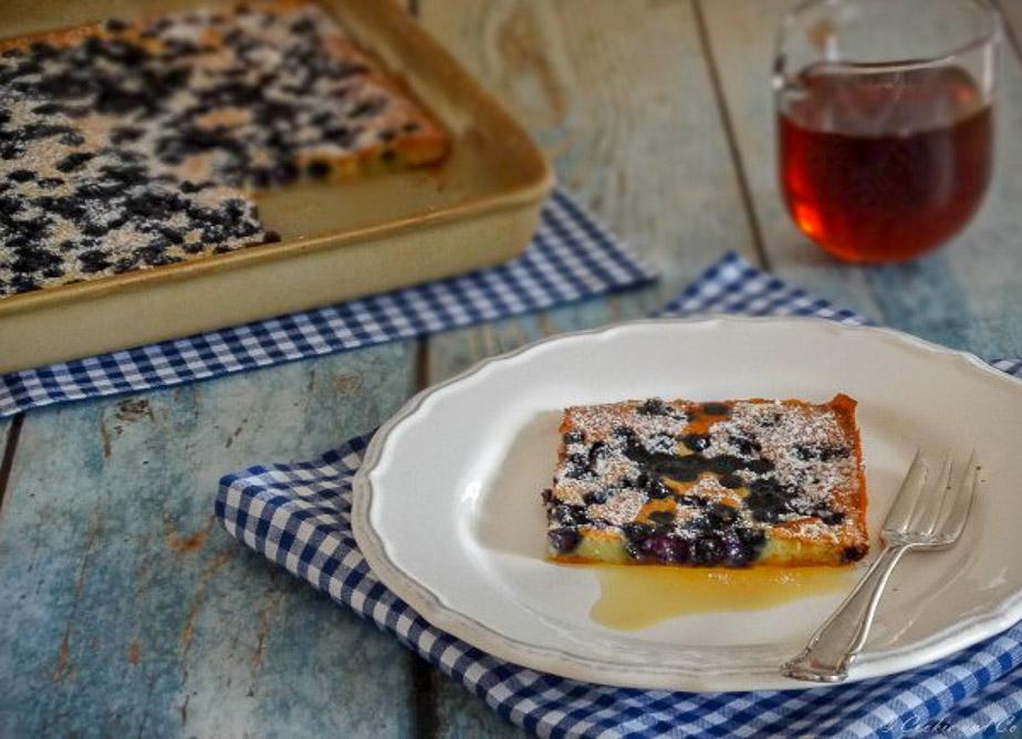 Ofenpfannekuchen mit Apfel oder Beeren