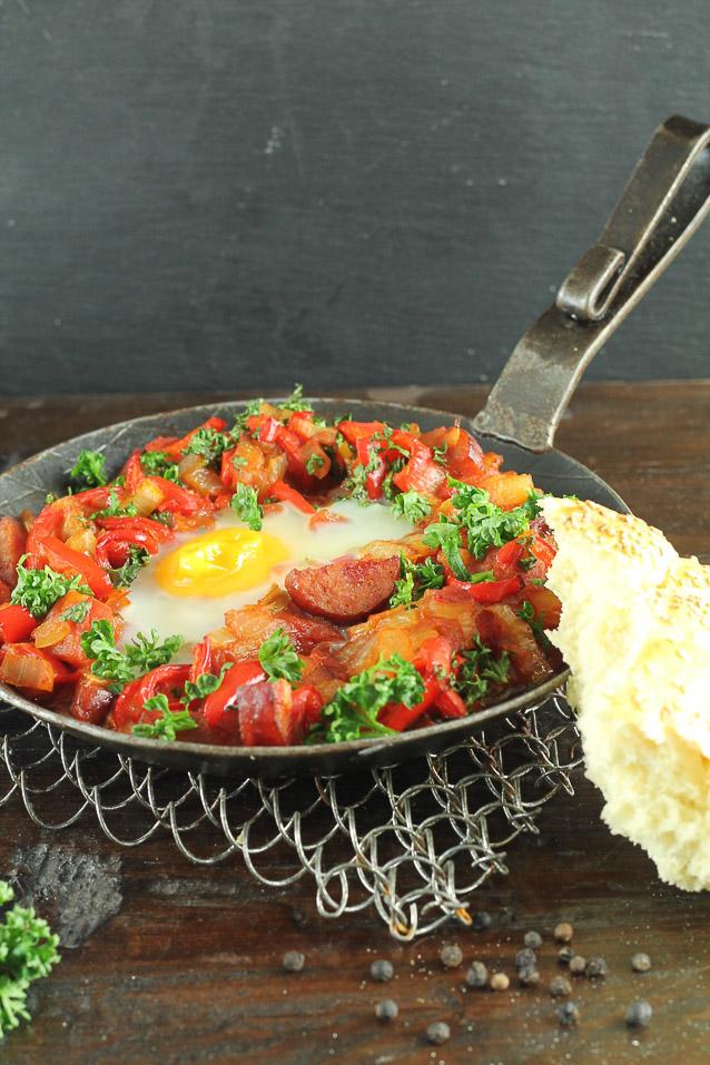 Menemen – türkisches Bauernfrühstück