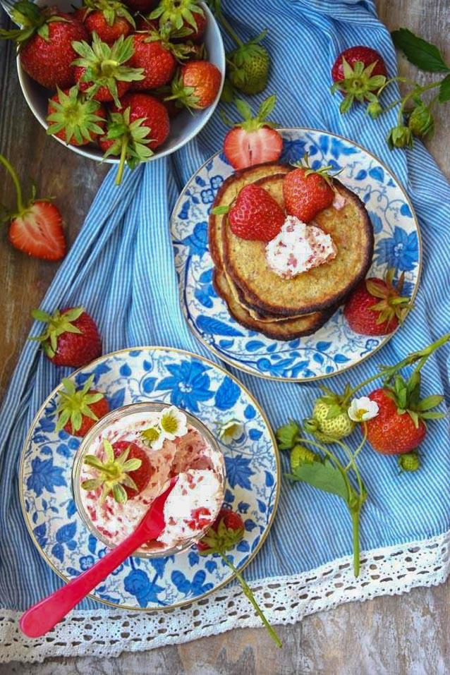 Erdbeer-Butter