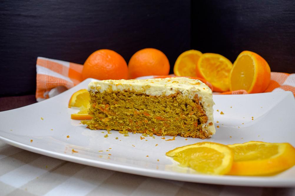 Saftiger Mohrenkuchen Mit Orange Einfach Nachschlagen
