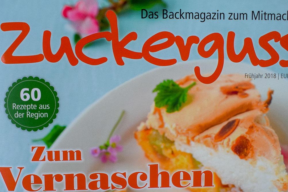 Das Backmagazin für den Frühling - die neue Zuckerguss ist da!