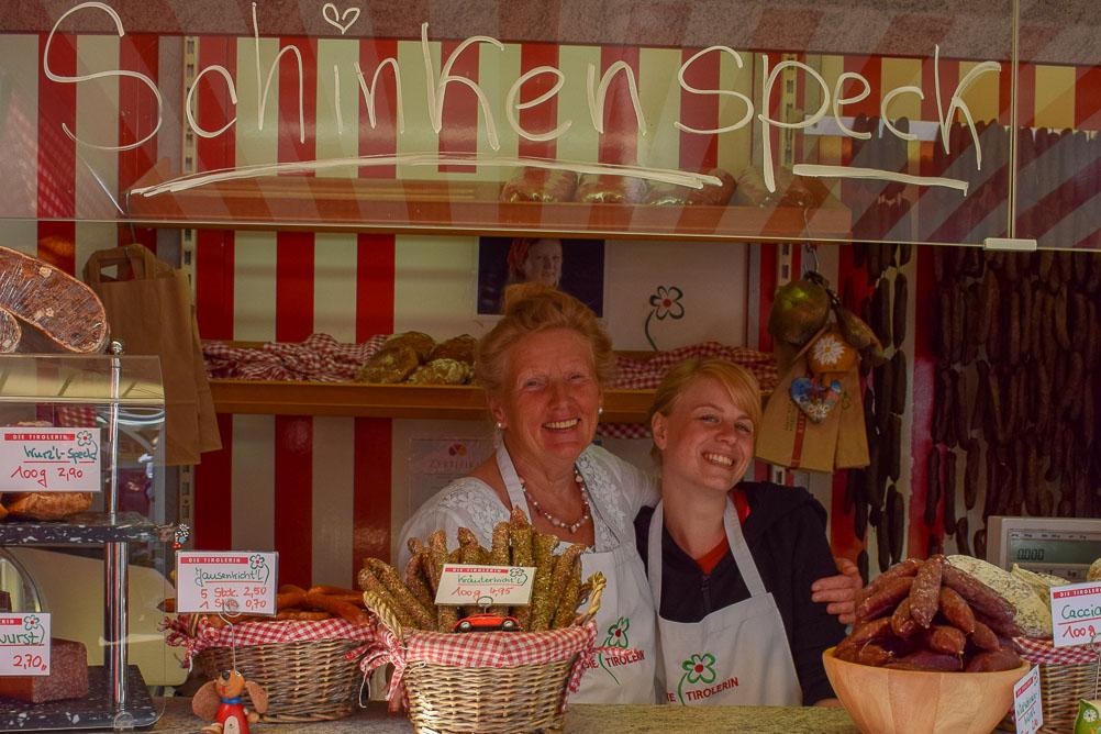 Die Tirolerin - Wochenmarkt am Dom - Münster_Kulinarische Rundreise Münsterland