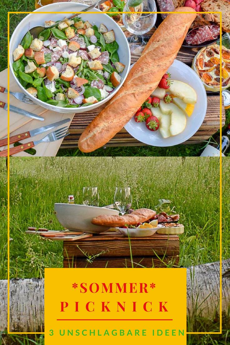 """Picknick-Rezepte. Im Blogpost verrate ich euch, warum es sich durchaus lohnt den Grill mal kalt bleiben zu lassen 😋 Alles unter dem Credo """"schnell, einfach, gut vorzubereiten""""."""
