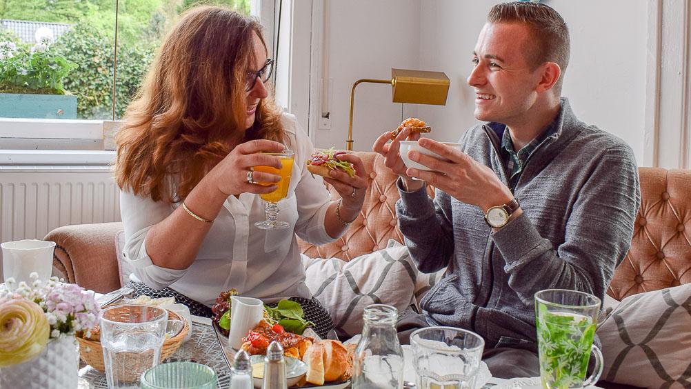 Silke und Fred von frühstücksliebe.de