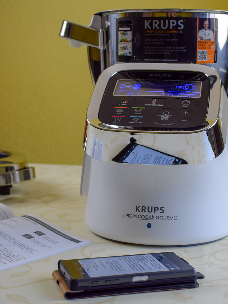 Krups i-Prep & Cook Gourmet im Test