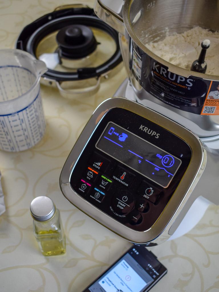 Krups i-Prep & Cook Gourmet im Test - Hefeteig