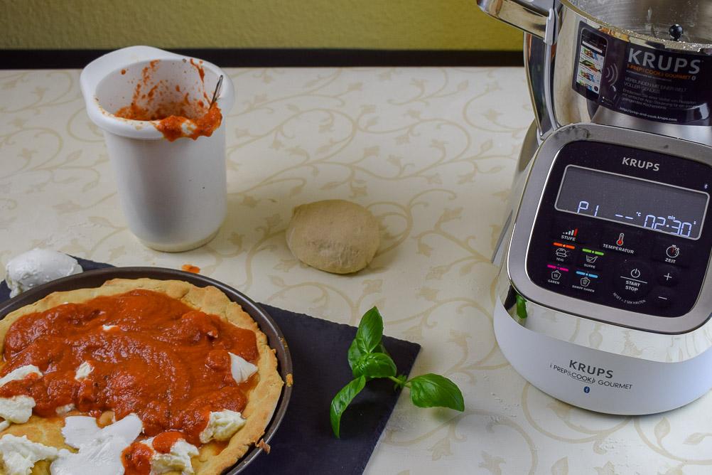Deep Dish Pizza belegen